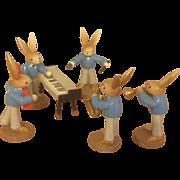 German Miniature wood Rabbits