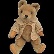 Cabinet Size Mohair Bear