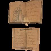 Tiny Waxed German Notes