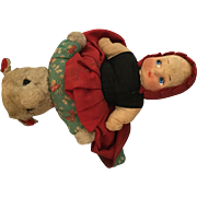 Topsy Turvy The Big Bad Bear and little Red Riding Hood
