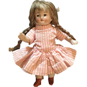 German, All Bisque, Miniature, Doll