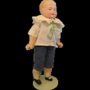 cabinet Size, Minerva, Tin Head, Boy Doll
