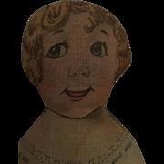 Miniature, Art Fabric Mills, Cloth Doll