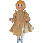 Miniature, German, All Bisque Doll