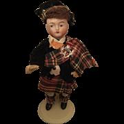 German, Miniature, Bisque Head Man