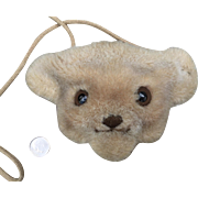 Small,Steiff Bear Purse
