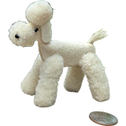 Tiny, Steiff French Poodle