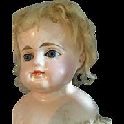 German, Papier Mache Doll