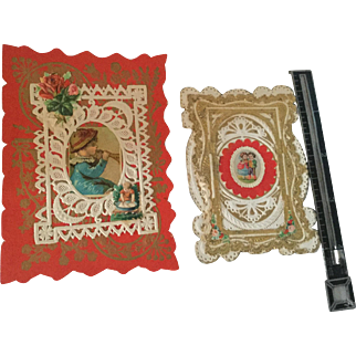 Miniature, Victorian Greeting Cards