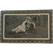 Post Card of Lassie Dog