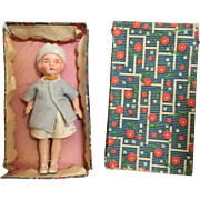Japanese, Painted Bisque Doll