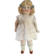 Limbach, Miniature, All Bisque Doll