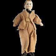 German, Dollhouse, Bisque Head Man