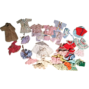 Over 30 Pieces of Ginny, Nancy Ann Type Clothing