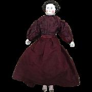 Dolly Madison China Head Doll