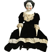 Kister, Flat Top, German China Head Doll