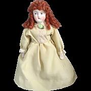 Stone Bisque, Miniature Lady