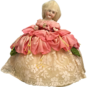 German, Bisque Half Doll