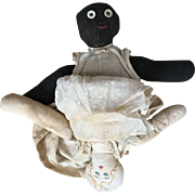 Topsy Turvy Primitive Black/ White Baby