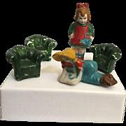 Miniature, Bisque Trinkets
