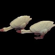 Miniature, S.A. Reider & Company Geese