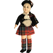 Norah Wellings Scottish Doll