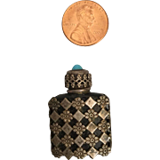Tiny Silver Perfume Bottle