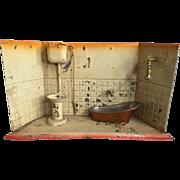 German, metal Bathroom