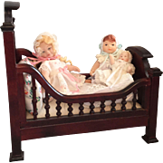 Miniature, Dollhouse, Artist Babies in Bed