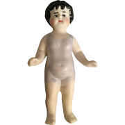 All Bisque, Miniature Bathing Doll