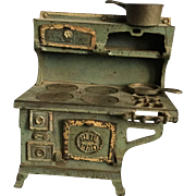 Blue Bird, Cast Iron Stove