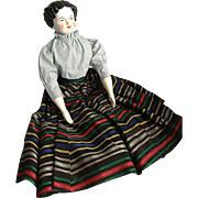 German, Modified Flat Top, China Doll