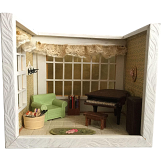 Shadow Box of Sitting Room