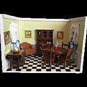 Wood Shadow Box of Kitchen