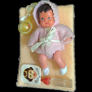 Miniature Shackman Baby on Card