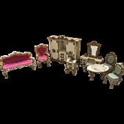 Spielwaren, German, Dollhouse Furniture