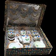 Japanese, Luster Tea Set