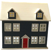 Miniature, Hard Plastic Doll House