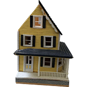 Miniature, Wood Dollhouse