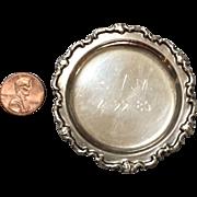 Miniature, Silver Platter