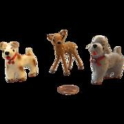 Handwork, German, Miniature Animals