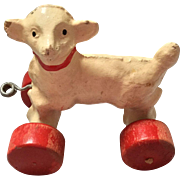 German, Composition Lamb on Wheels