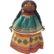 """13"""" Seminole Indian Doll - Red Tag Sale Item"""