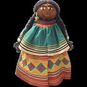 "13"" Seminole Indian Doll"