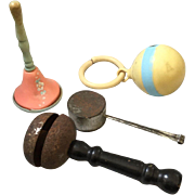 Antique and Vintage Baby Rattles