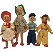 Polish, wood Dolls