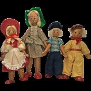 Polish, wood Dolls