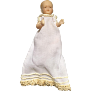 Miniature, Wax Baby Doll