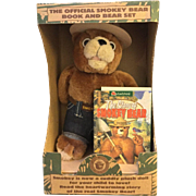 The Official Smokey Bear Book and Bear Set