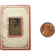 Tiny Tin Type in Original Mat